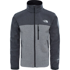 The North Face Apex Bionic Jas Heren, tnf dark grey heather/tnf medium grey